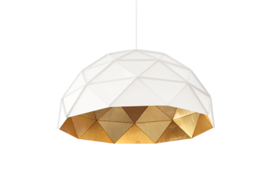 Sun Chandelier Gold Plated Stainless Steel 100