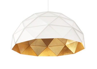 Sun Chandelier Gold Plated Stainless Steel 140