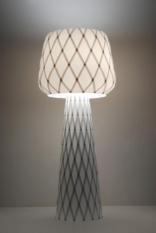 Diamond Grid Table Light 100