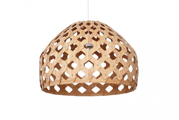 Bamboo Light Hexagonal Beehive 50 Half
