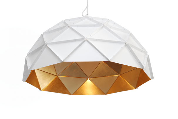 Sun Chandelier Gold Stainless Steel 70
