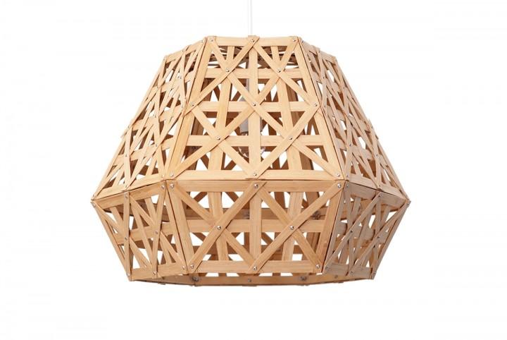 Adamlamp Hexagonal Copper Pendant Light Black