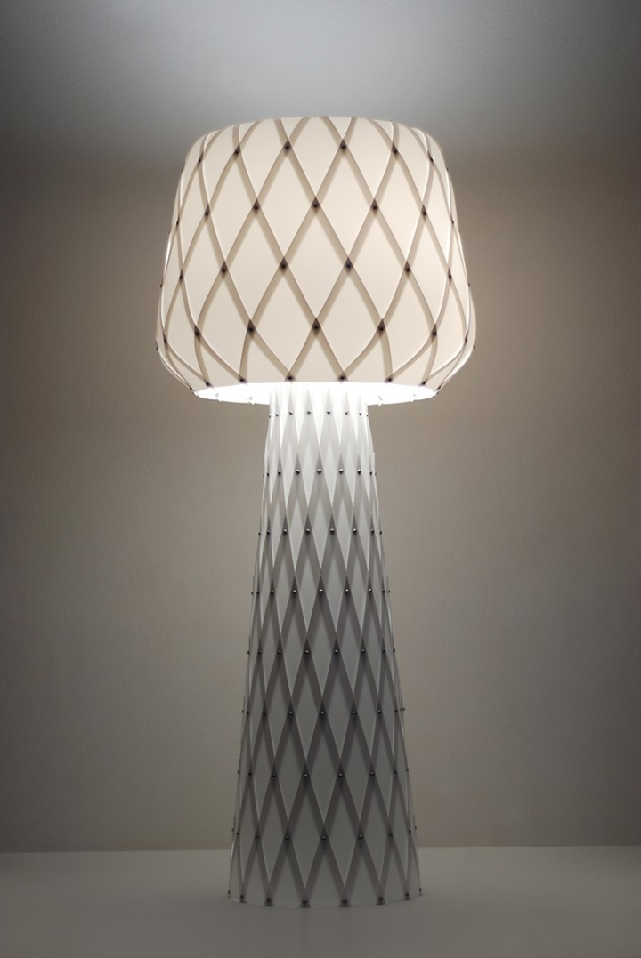 Diamond Grid Table Light 100