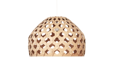 Bamboo Light Hexagonal Beehive 50 Half