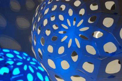Spiral Folding lamps
