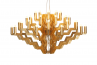 Adamlamp Chandelier 40 Arm 98 Gold Stainless steel traditional water gilding on