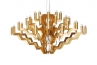 Adamlamp Chandelier 40 Arm 98 Gold Stainless steel traditional water gilding off