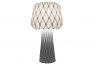 adamlamp diamond grid table light 70, light on