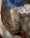 Adamlamp Bamboo Light Hexagonal Cigar 105, suspension,