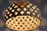 Adamlamp Bamboo Light Hexagonal Beegive 50 Half