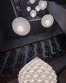 Adamlamp Hexa Lights, suspended lights, stairway,