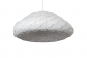 Adamlamp, C 3 Pendant light, white, opal, light off,